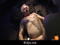 happy sex-alloween night for grandpa