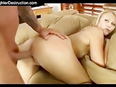 youthful beauty monsterfucked in her throat and