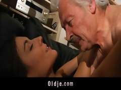 granddad fucking slutty youthful sweety
